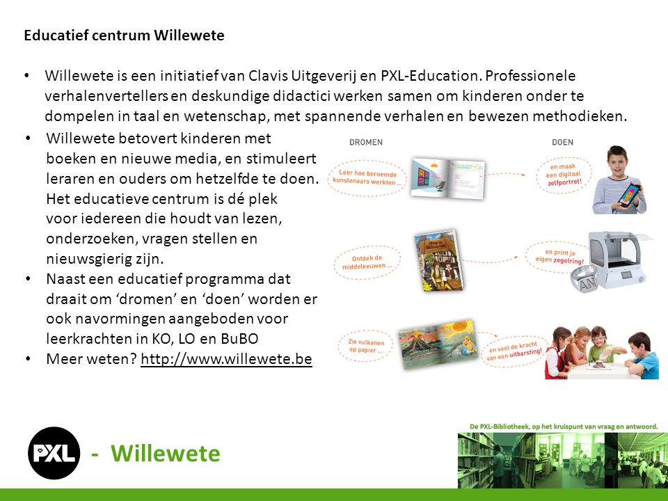 - Willewete Educatief centrum Willewete