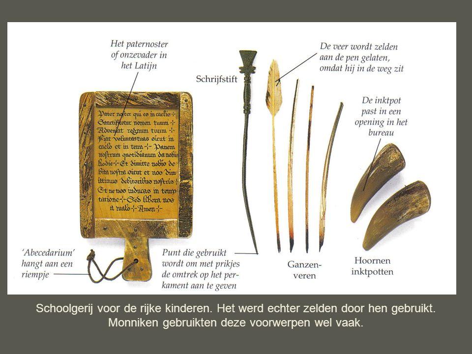 Monniken gebruikten deze voorwerpen wel vaak.