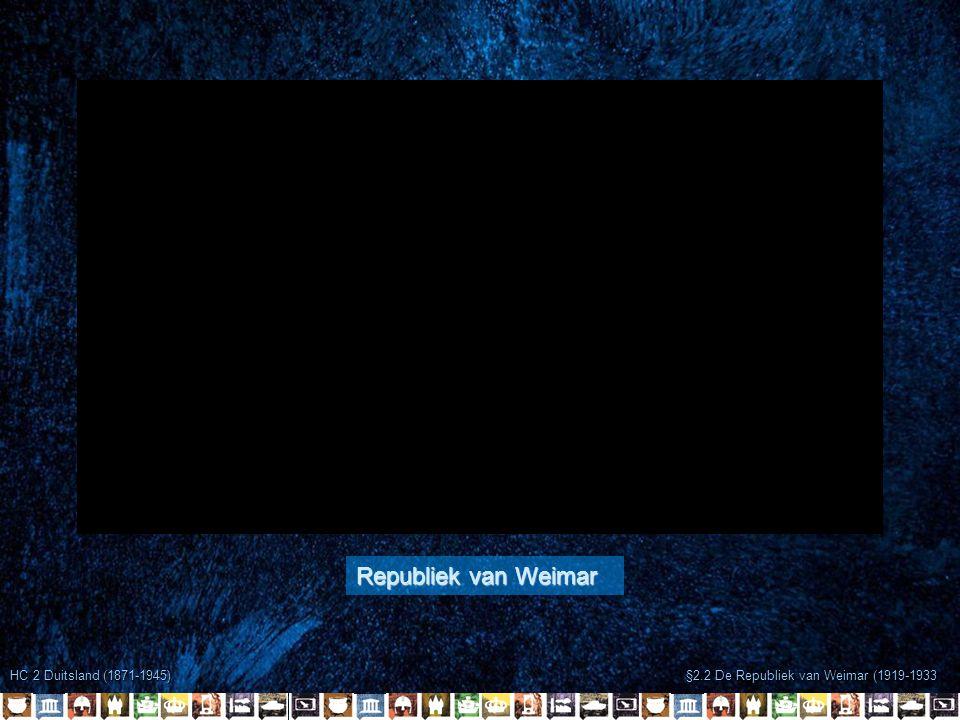 Republiek van Weimar HC 2 Duitsland (1871-1945)
