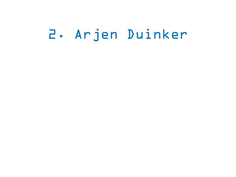 2. Arjen Duinker