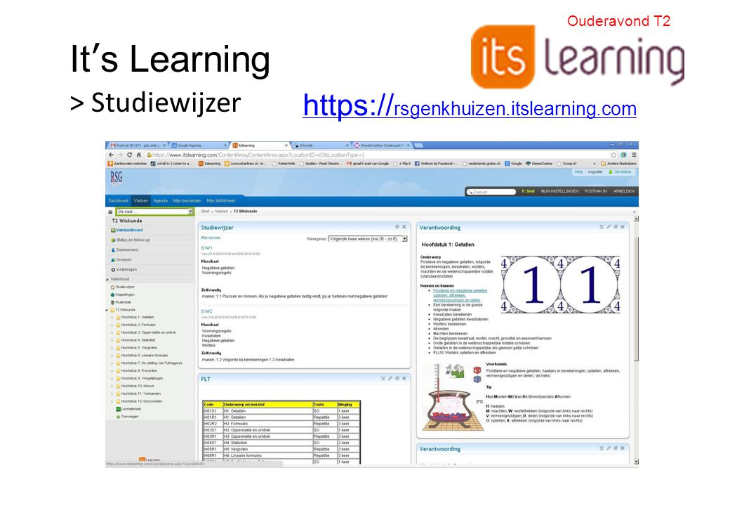 It's Learning > Studiewijzer https://rsgenkhuizen.itslearning.com