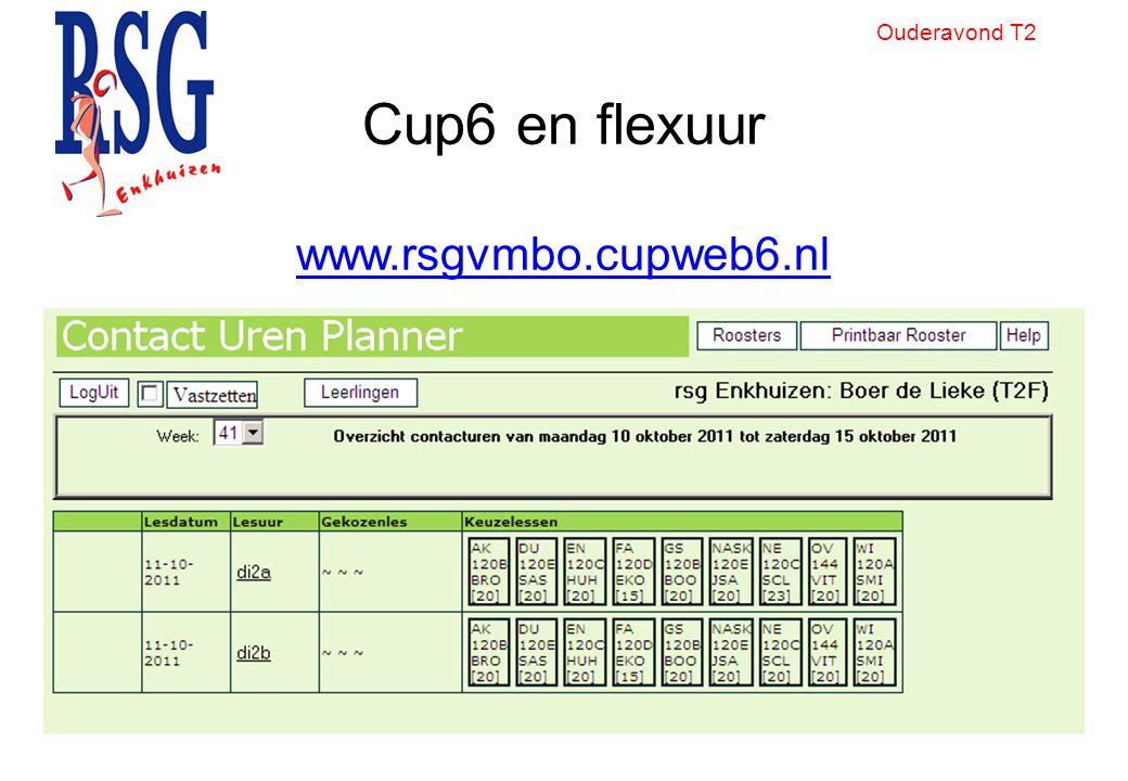 Cup6 en flexuur www.rsgvmbo.cupweb6.nl