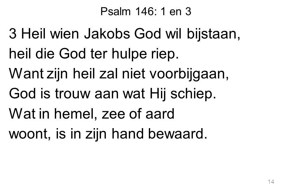 Psalm 146: 1 en 3