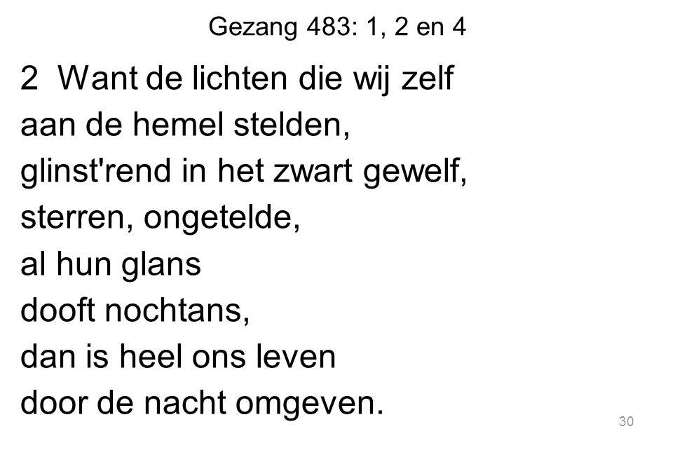 Gezang 483: 1, 2 en 4