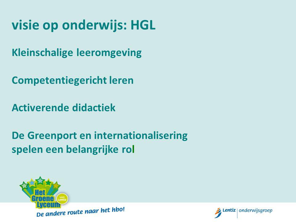 visie op onderwijs: HGL