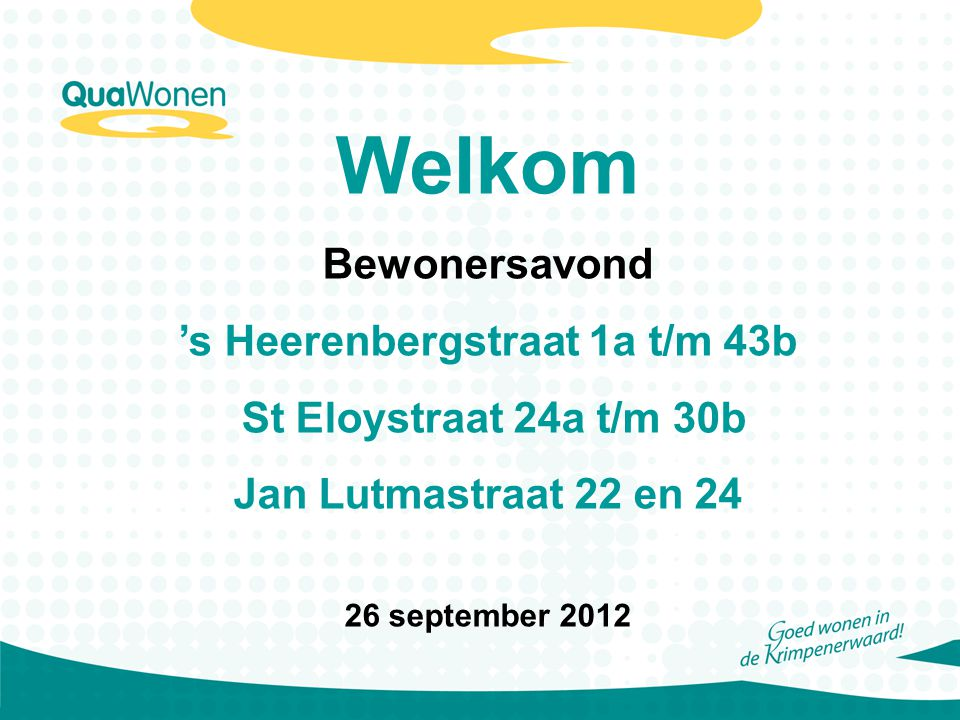 's Heerenbergstraat 1a t/m 43b