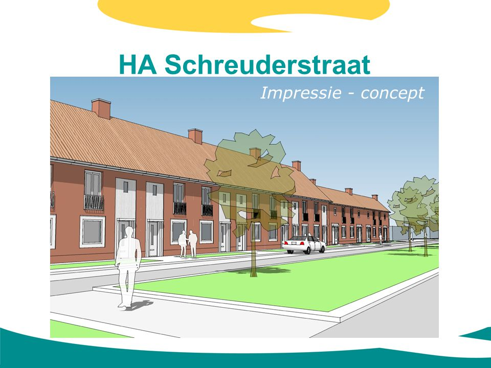 HA Schreuderstraat Impressie - concept