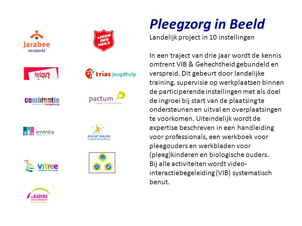 Pleegzorg in Beeld Landelijk project in 10 instellingen
