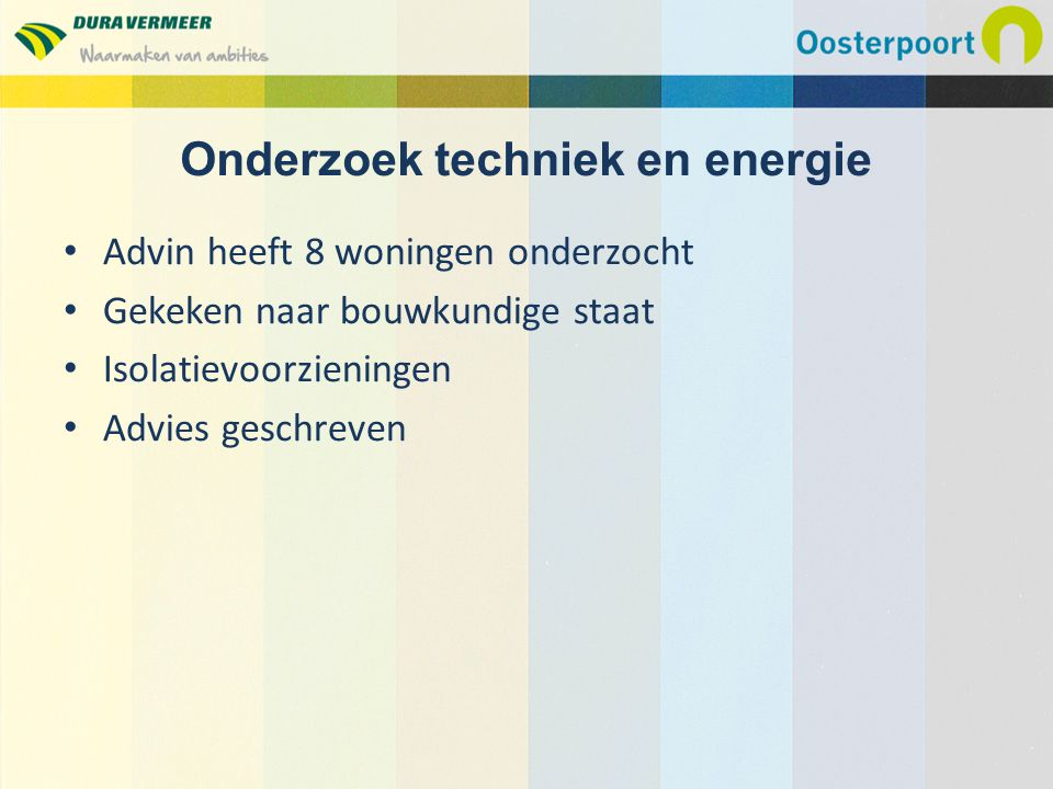 Onderzoek techniek en energie