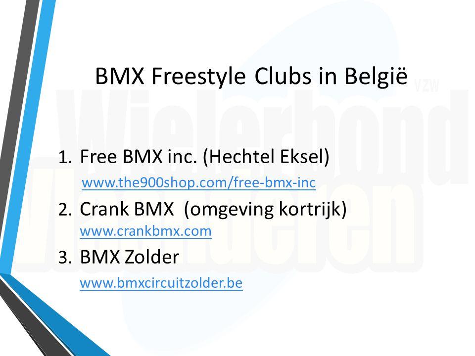 Opleiders BMX Freestyle