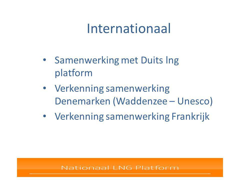 Internationaal Samenwerking met Duits lng platform