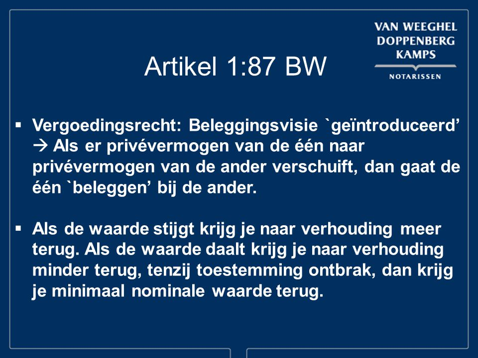 Artikel 1:87 BW