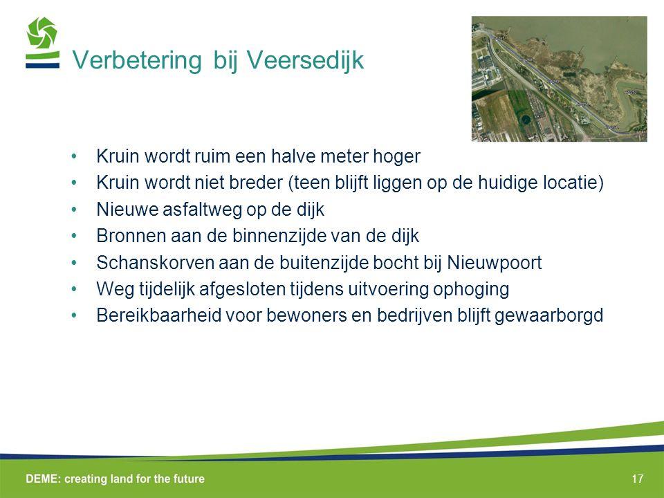Verbetering bij Veersedijk