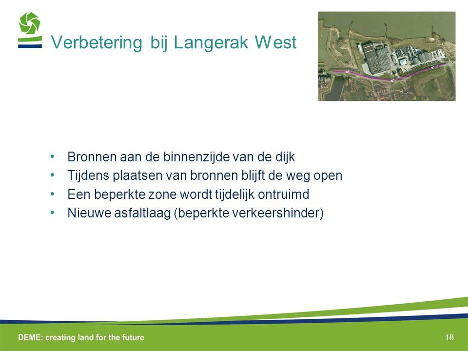 Verbetering bij Langerak West