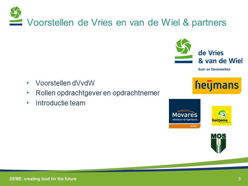 Voorstellen de Vries en van de Wiel & partners