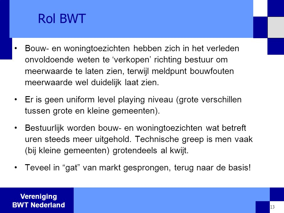 Rol BWT