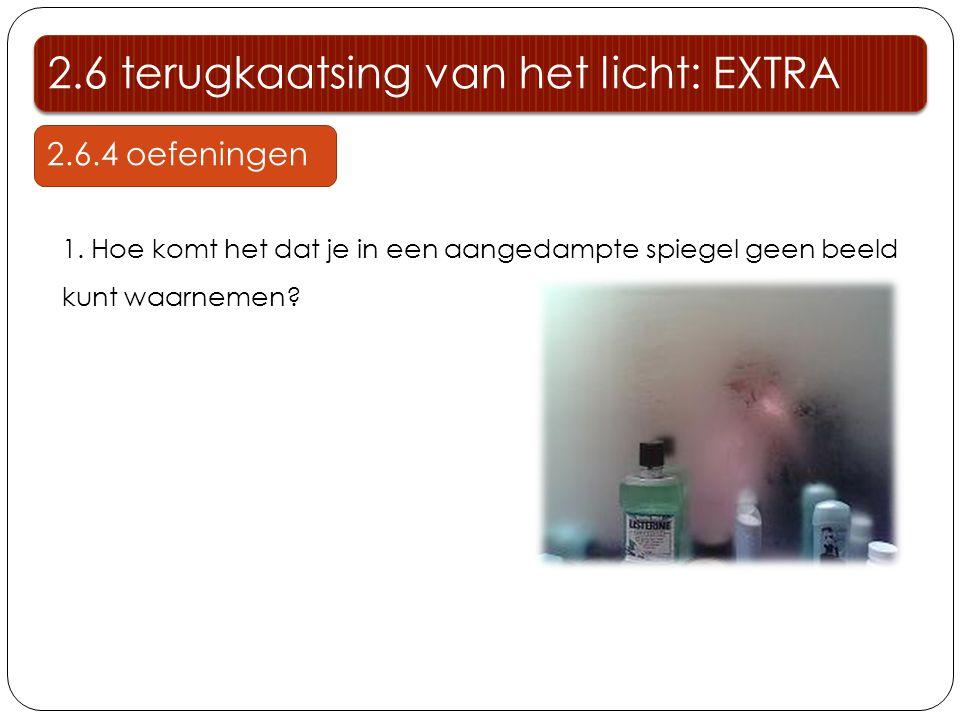 2.6 terugkaatsing van het licht: EXTRA