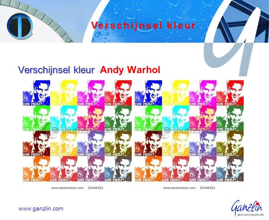 Verschijnsel kleur Andy Warhol