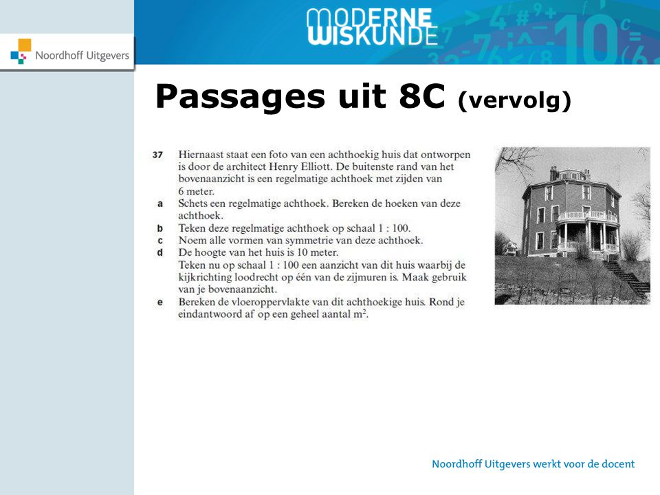 Passages uit 8C (vervolg)