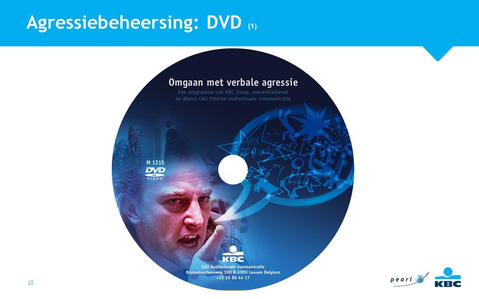 Agressiebeheersing: DVD (1)