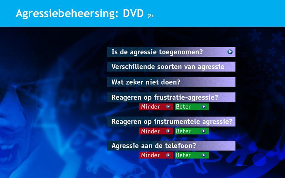 Agressiebeheersing: DVD (2)