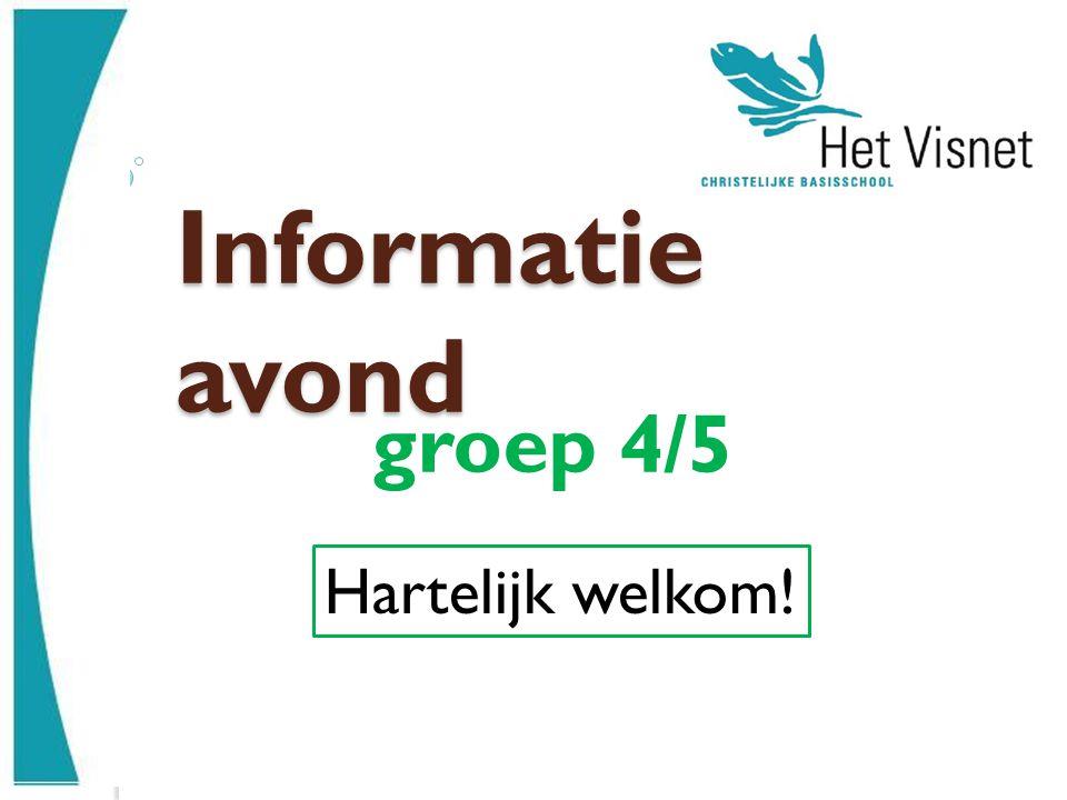 Informatie avond groep 4/5 Hartelijk welkom!
