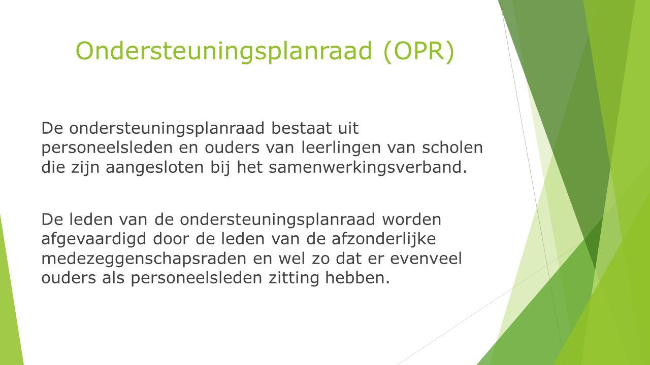 Ondersteuningsplanraad (OPR)