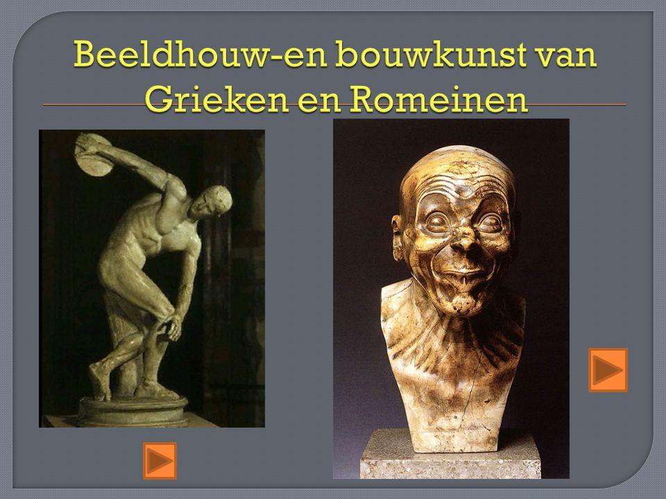 Beeldhouw-en bouwkunst van Grieken en Romeinen