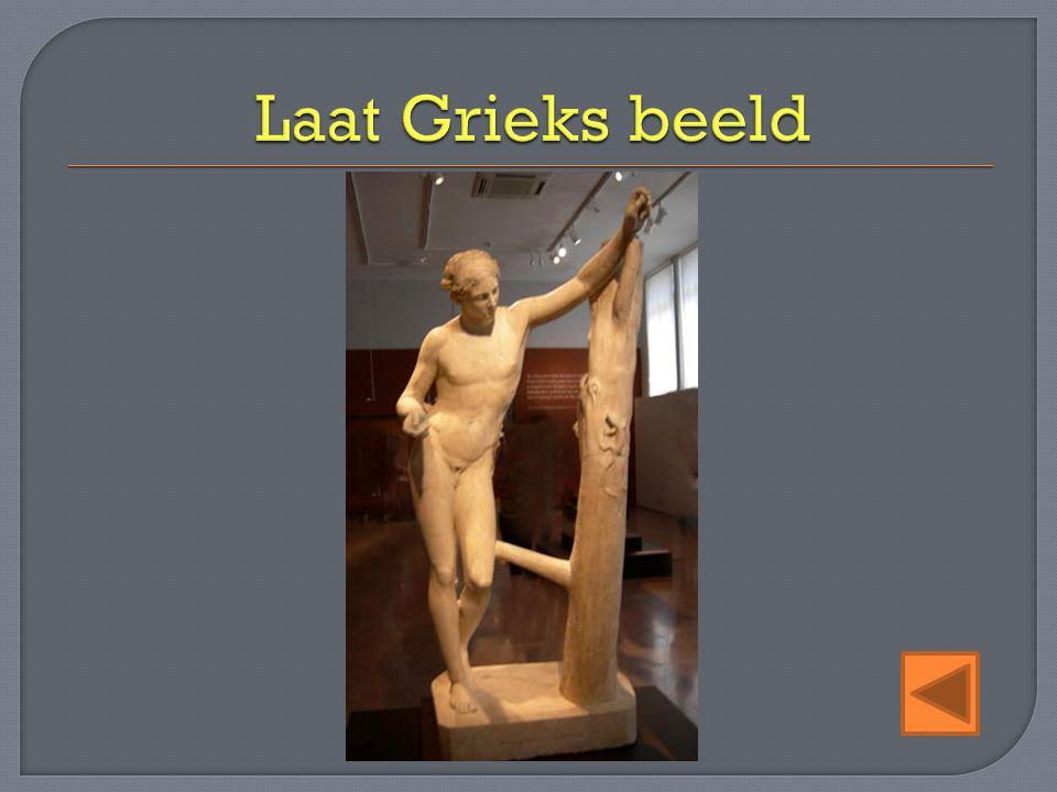 Laat Grieks beeld