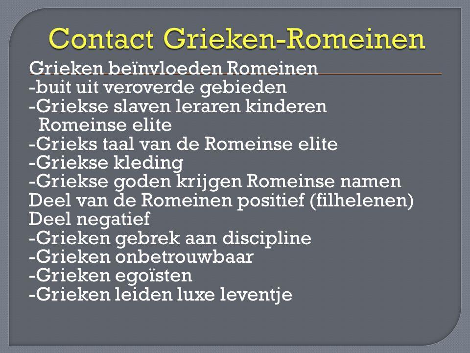 Contact Grieken-Romeinen