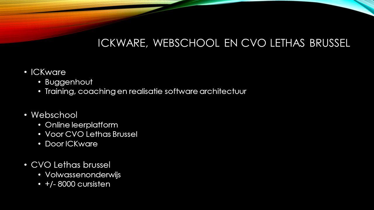 Ickware, webschool en cvo lethas brussel