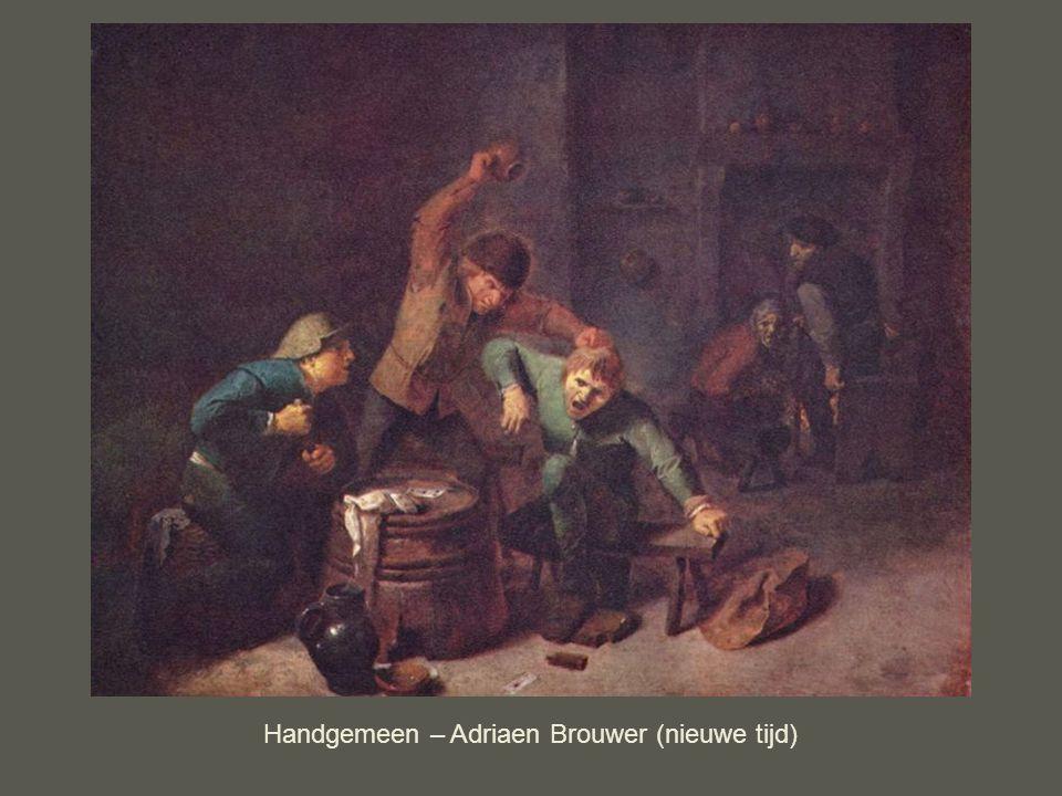 Handgemeen – Adriaen Brouwer (nieuwe tijd)