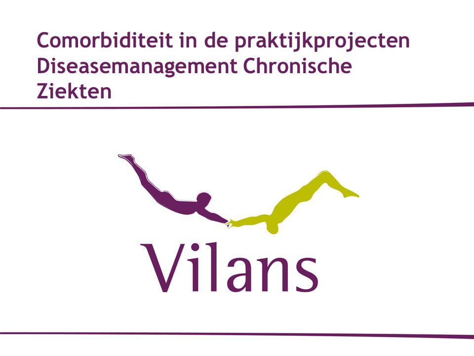 12-10-2010 Comorbiditeit in de praktijkprojecten Diseasemanagement Chronische Ziekten 1