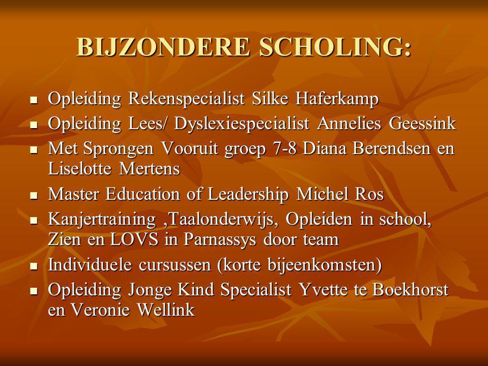 BIJZONDERE SCHOLING: Opleiding Rekenspecialist Silke Haferkamp