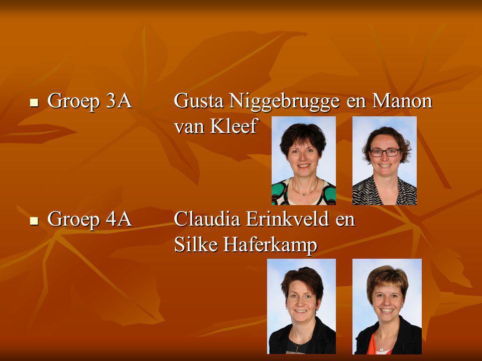 Groep 3A Gusta Niggebrugge en Manon van Kleef