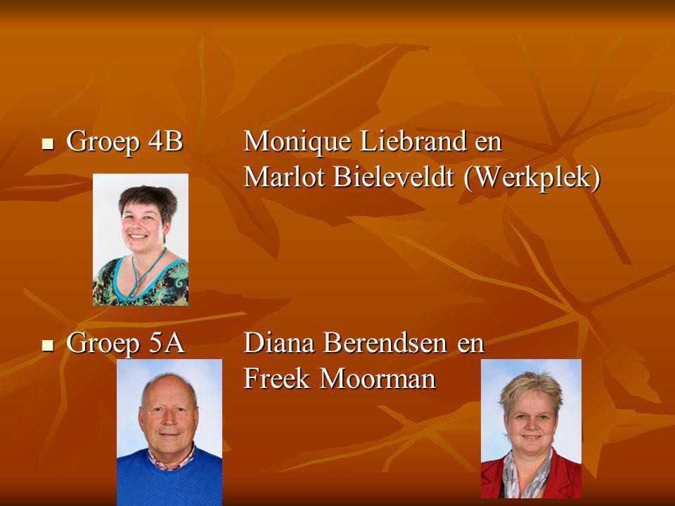 Groep 4B Monique Liebrand en Marlot Bieleveldt (Werkplek)