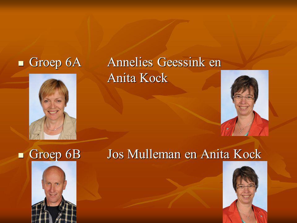 Groep 6A Annelies Geessink en Anita Kock
