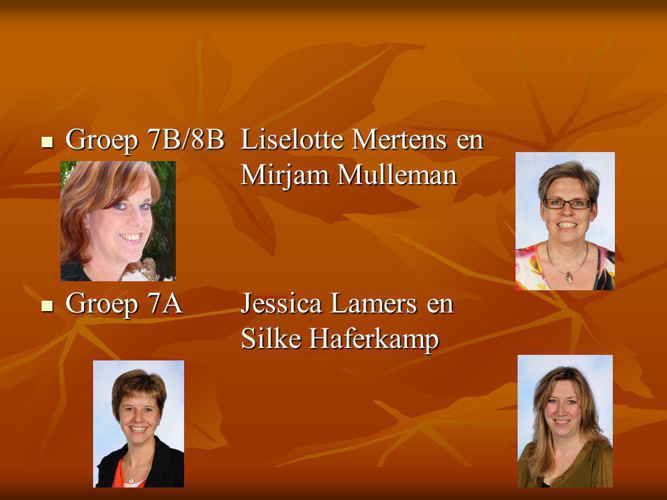 Groep 7B/8B Liselotte Mertens en Mirjam Mulleman