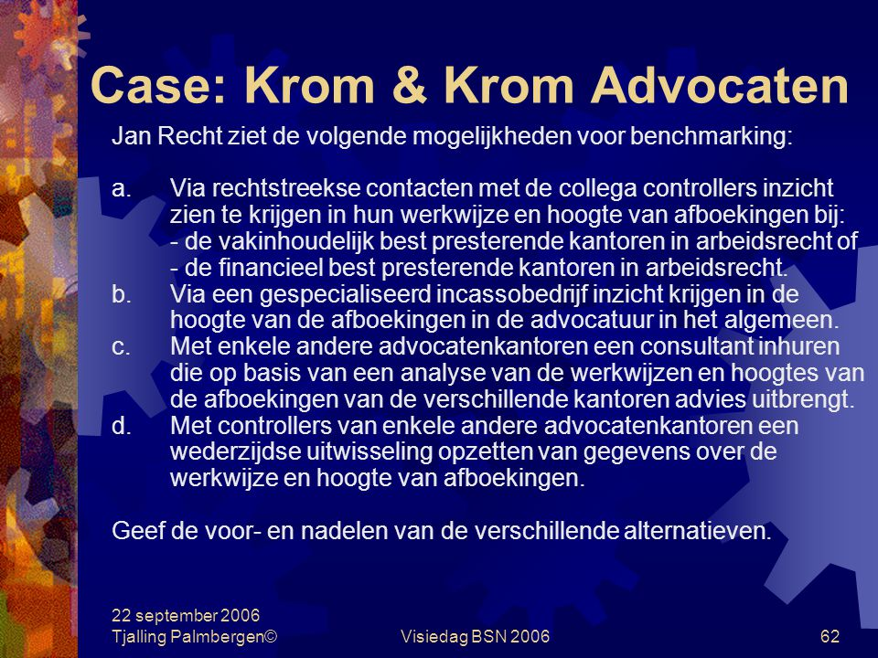 Case: Krom & Krom Advocaten