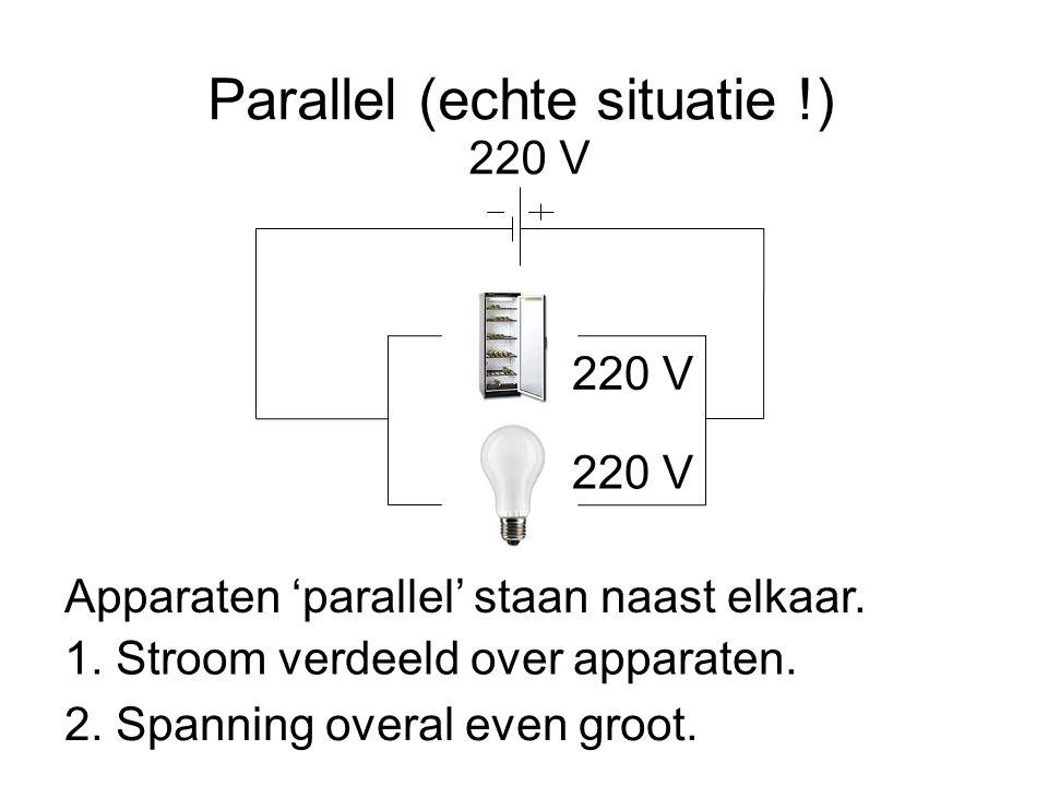 Parallel (echte situatie !)