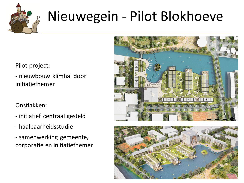 Nieuwegein - Pilot Blokhoeve