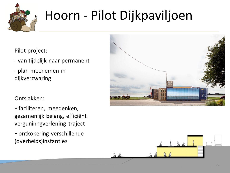 Hoorn - Pilot Dijkpaviljoen