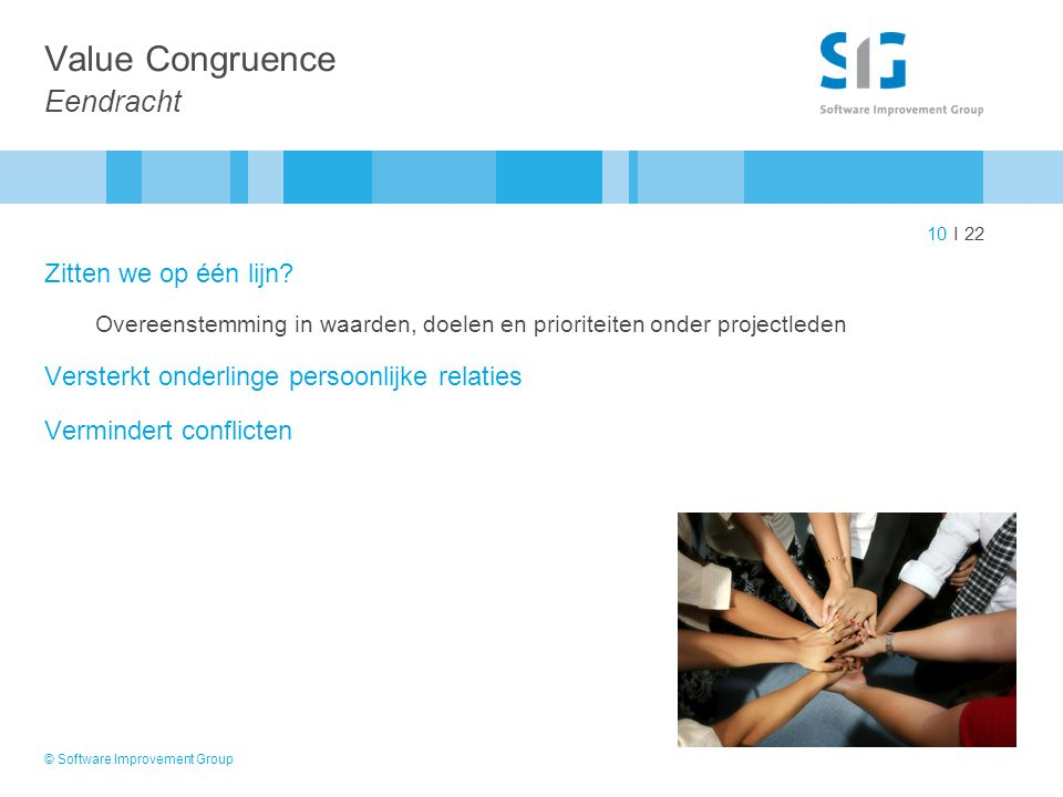 Value Congruence Eendracht