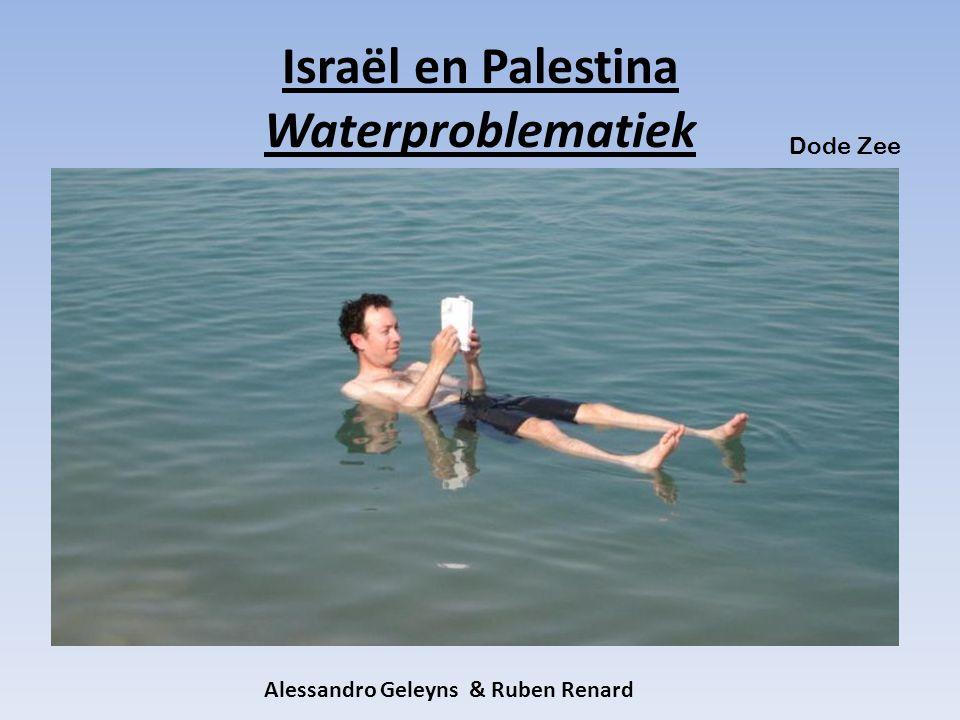Israël en Palestina Waterproblematiek