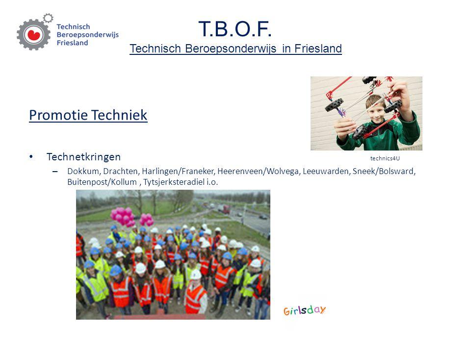 T.B.O.F. Technisch Beroepsonderwijs in Friesland