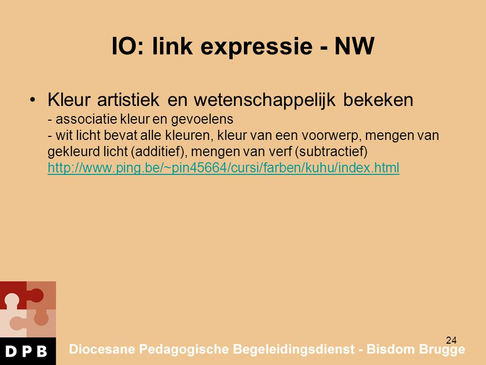 IO: link expressie - NW