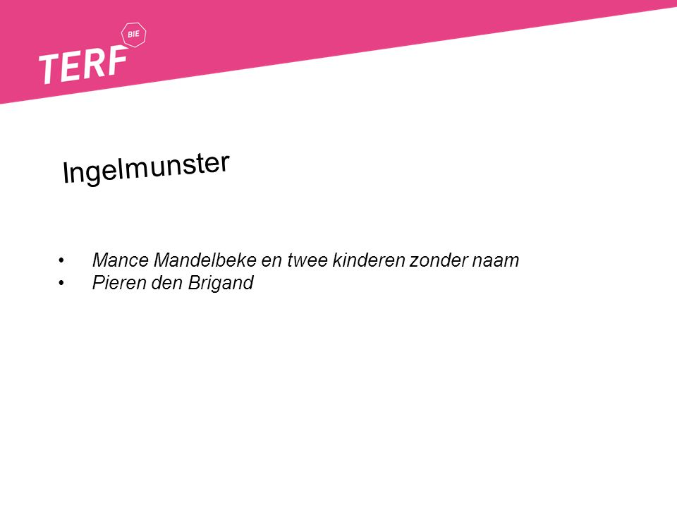 Ingelmunster Mance Mandelbeke en twee kinderen zonder naam