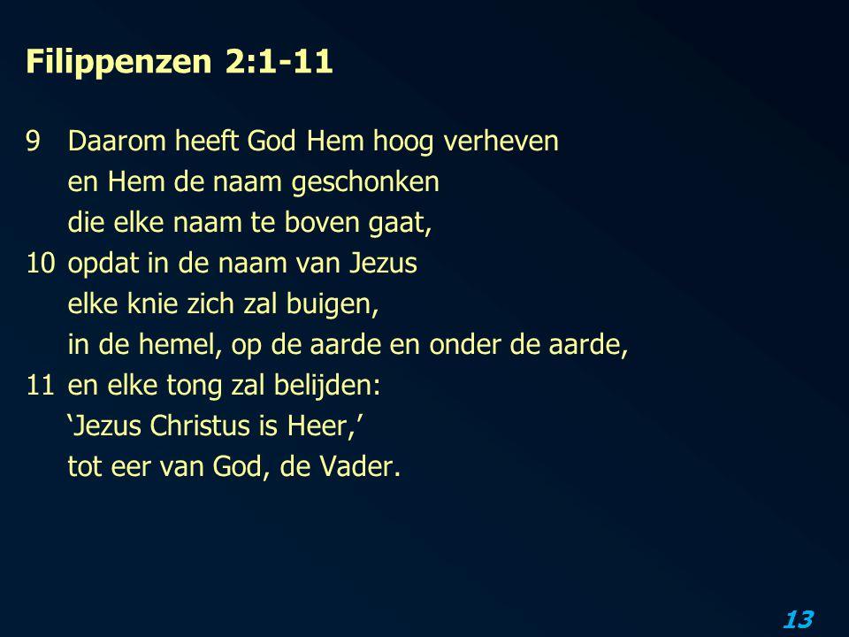 Filippenzen 2:1-11
