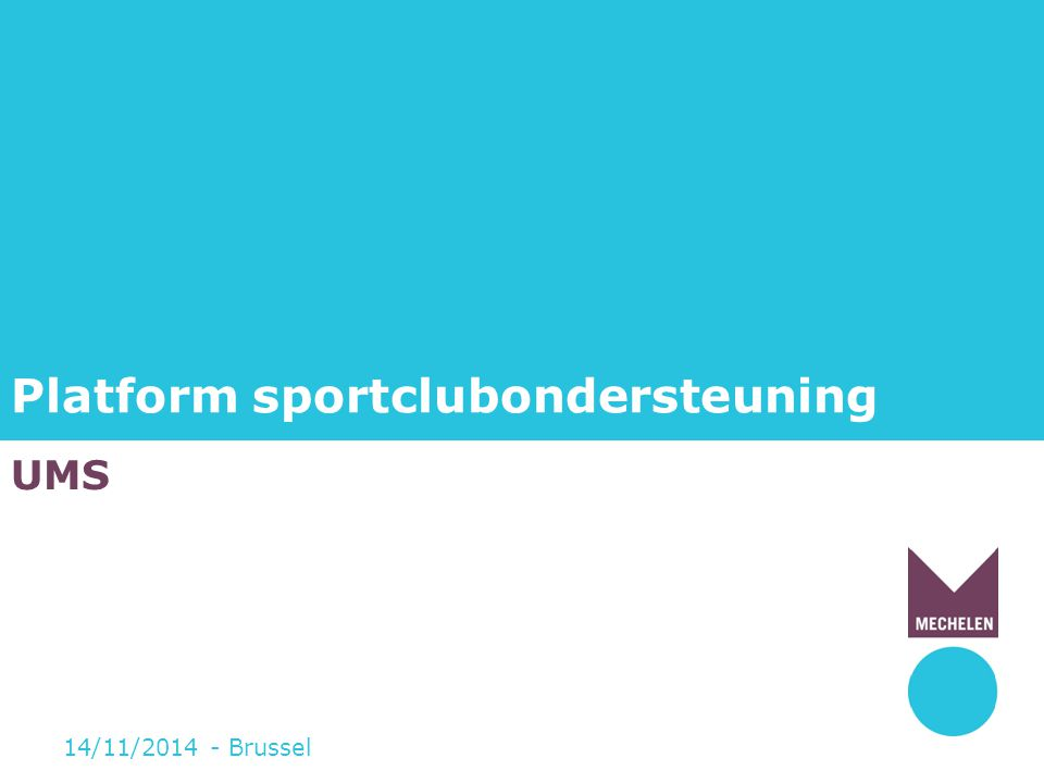 Platform sportclubondersteuning