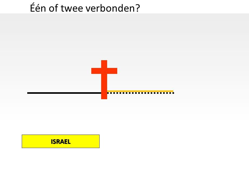 Één of twee verbonden ISRAEL
